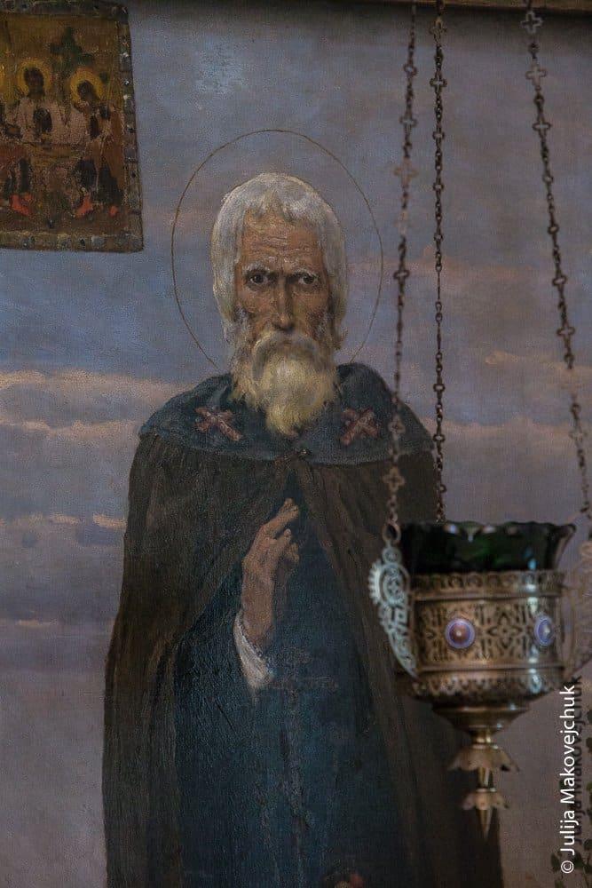 Сергий Радонежский. Икона В. Васнецова.