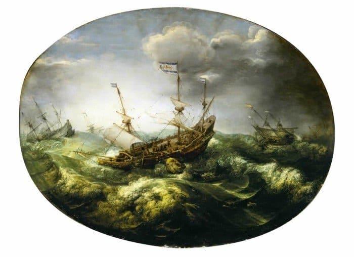 Adam Willaerts. Иона и кит