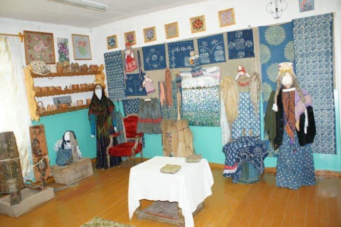 Этнографический музей-мастерская в селе Лядины