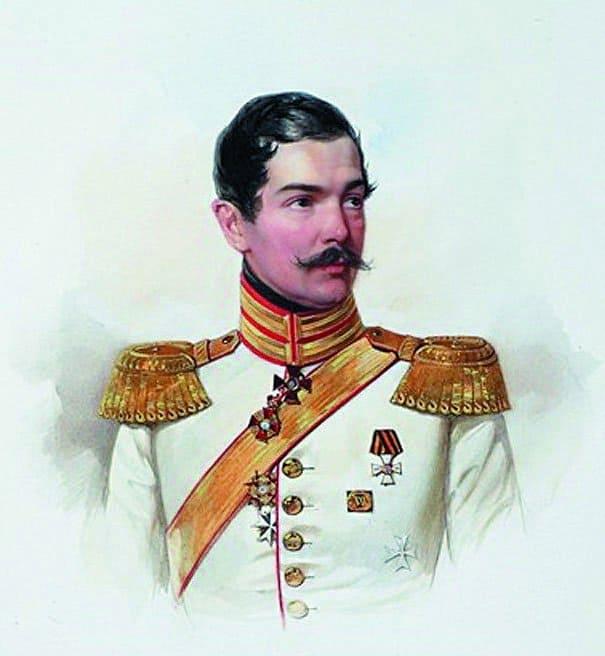 Генерал-майор П.П. Ланской_Гау
