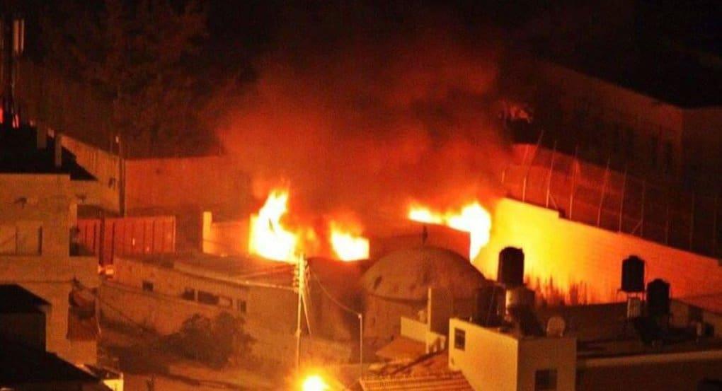 В Палестине чуть не сожгли гробницу праотца Иосифа