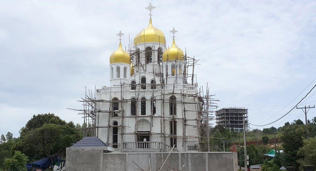 В Камбодже освятили первый русский храм