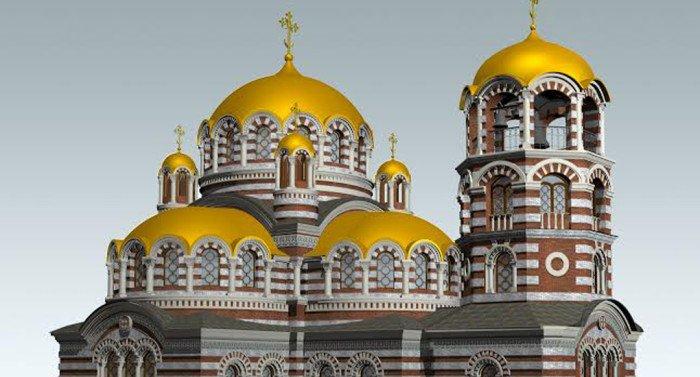 Столичный храм в честь патриарха Ермогена достроят в 2016 году