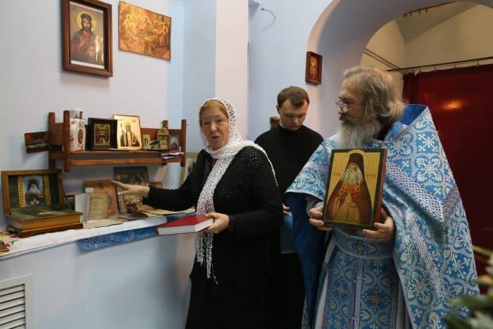 Организатор выставки, посвященной преподобноисповеднику Гавриилу (Игошкину) Людмила Куликова
