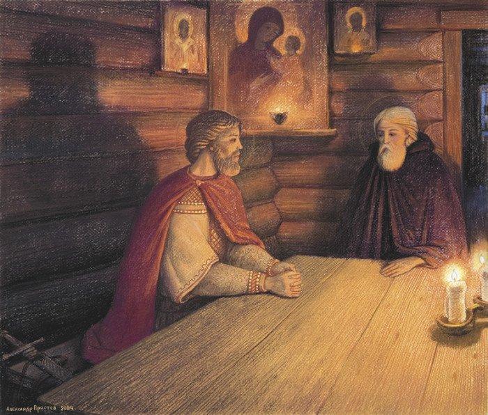 Сергий Радонежский картины