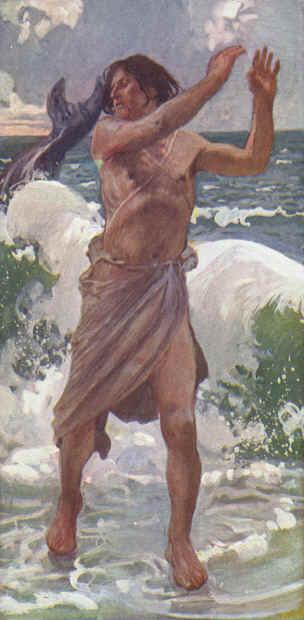 James Tissot. Jonah. 1896–1902