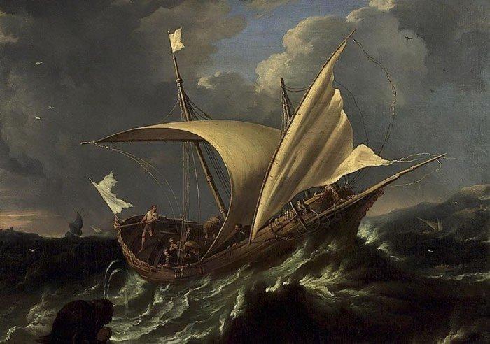 Карло Антонио Тавелла. Иона и кит