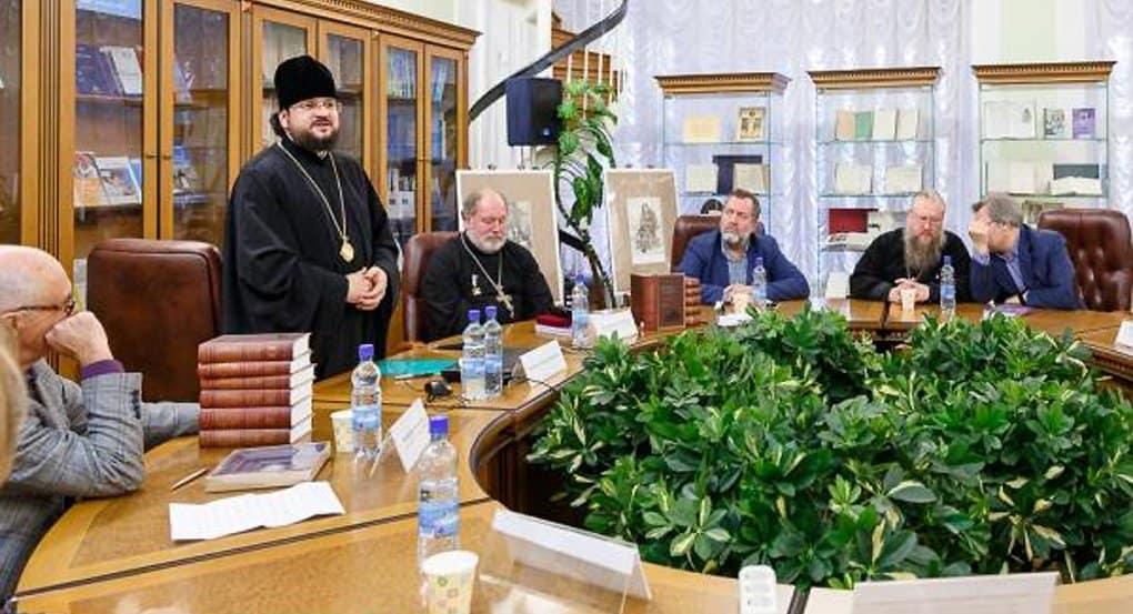 В столице представили первое собрание творений святителя Иннокентия Московского