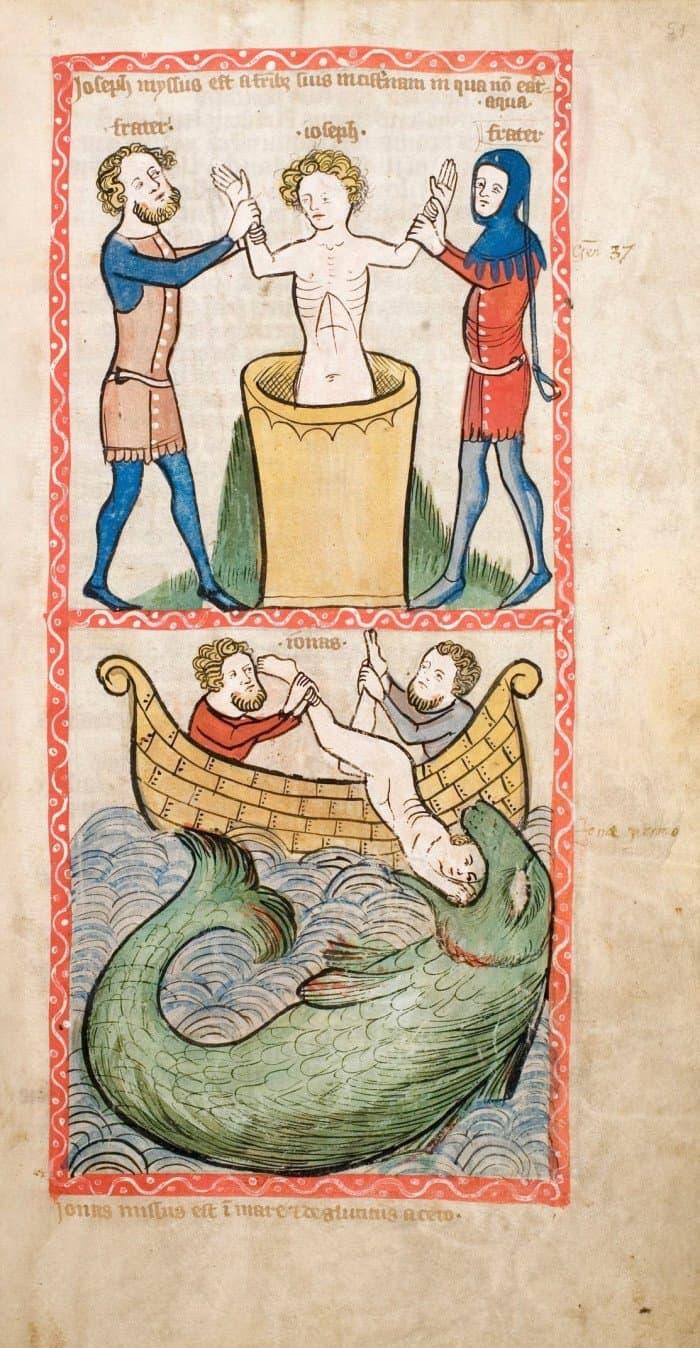 Speculum Humanae Salvationis. Westfalen oder Köln, um 1360