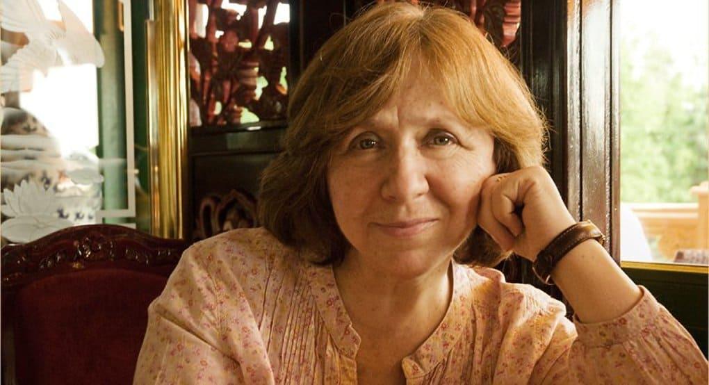 Нобелевским лауреатом по литературе стала белоруска Светлана Алексиевич