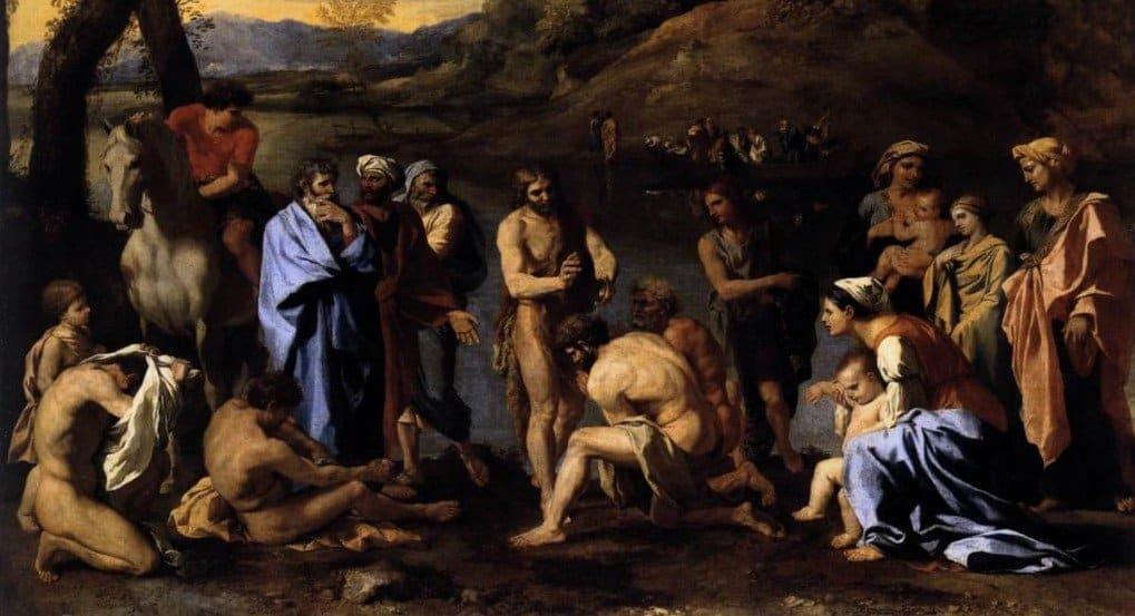 Святой Иоанн Креститель, Никола Пуссен