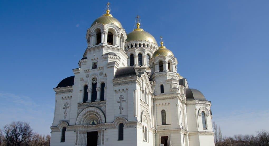 В Новочеркасске патриарх Кирилл освятил главный храм казаков