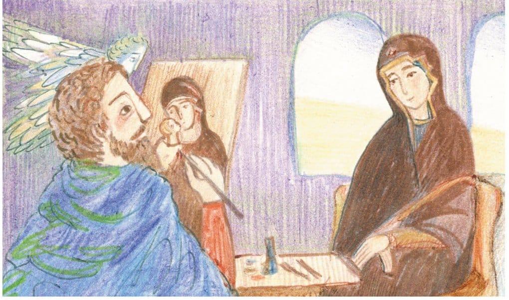 Апостол и евангелист Лука. История в картинках
