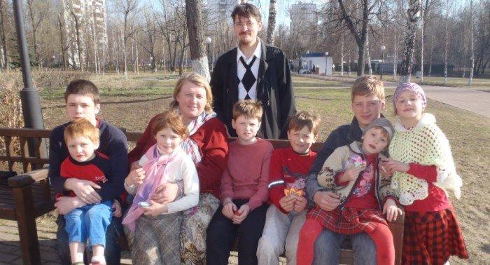 Трагедия в многодетной семье