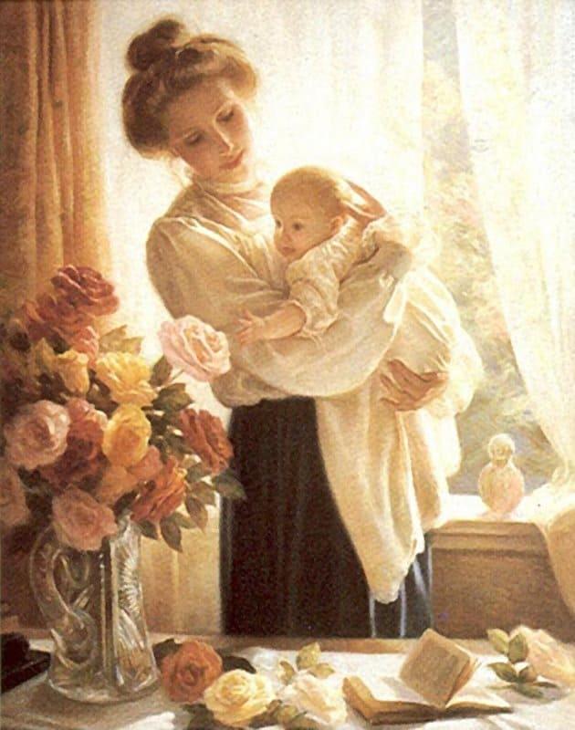 Открытки ко дню матери: Алан Ларсон
