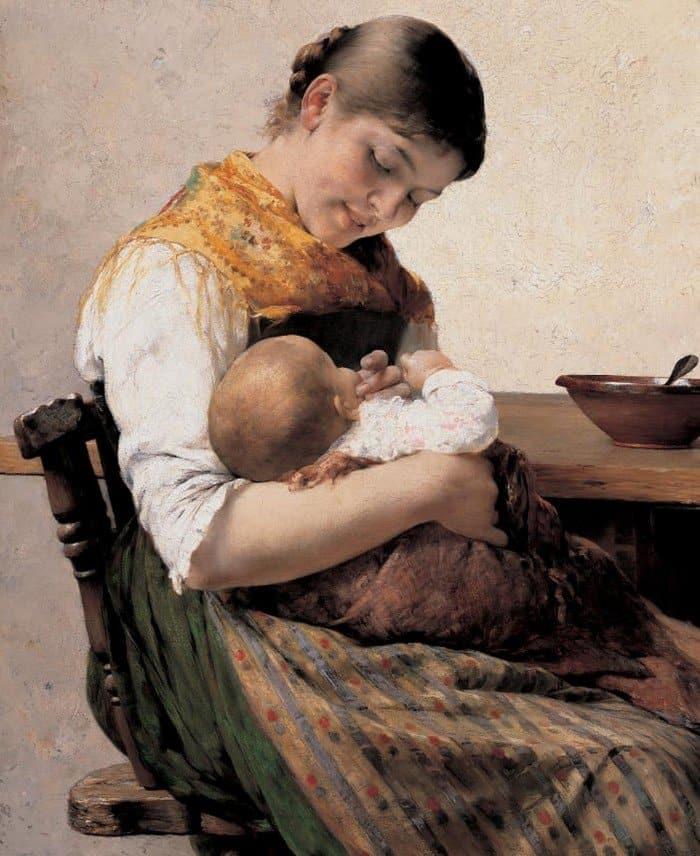 Открытки ко дню матери: Georgios Jakobides