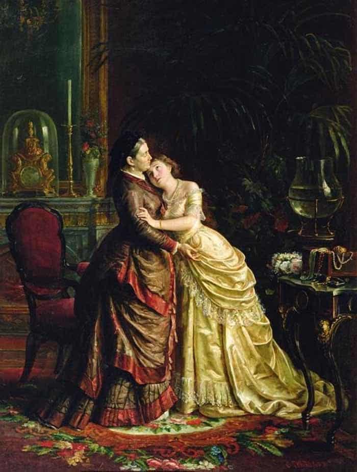 Открытки ко дню матери: Грибков С. И. Перед свадьбой