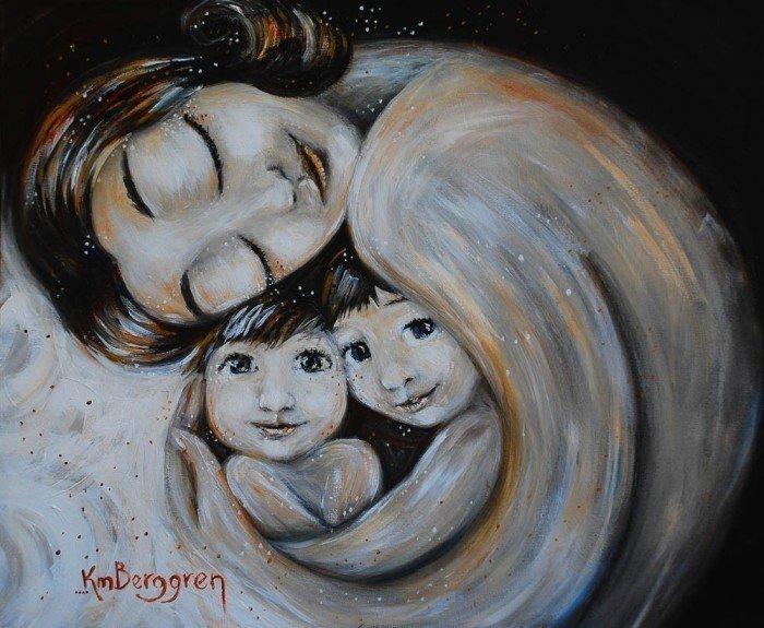 Открытки ко дню матери: Katie M. Berggren