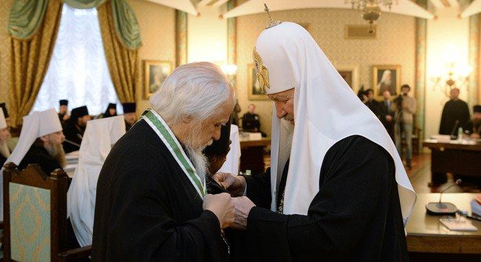 Епископ Орехово-Зуевский Пантелеимон награжден орденом Серафима Саровского