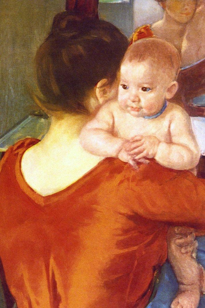 Открытки ко дню матери: Огюст Ренуар. Мать и дитя