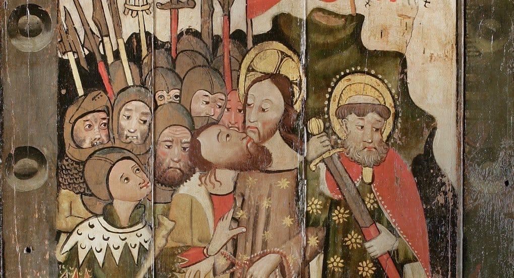 Панно «Страсти Христовы» времен Реформации обнаружили в Британии