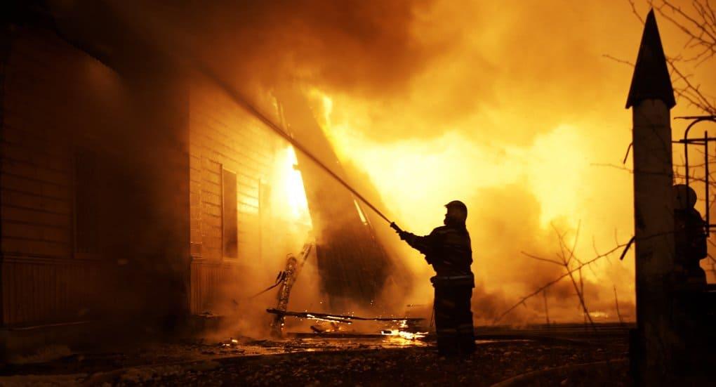 В Ивановской епархии сгорел старейший храм