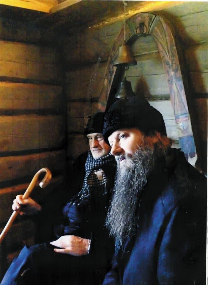 Борис Диодоров сдуховником семьи протоиереем Артемием Владимировым
