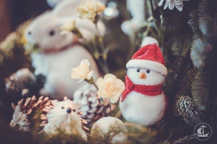 Фото Рождества: украшения, игрушки, елка