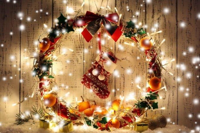 Фото Рождества: венок