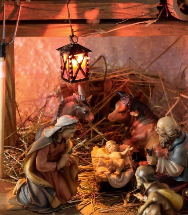 Фото Рождества: вертеп