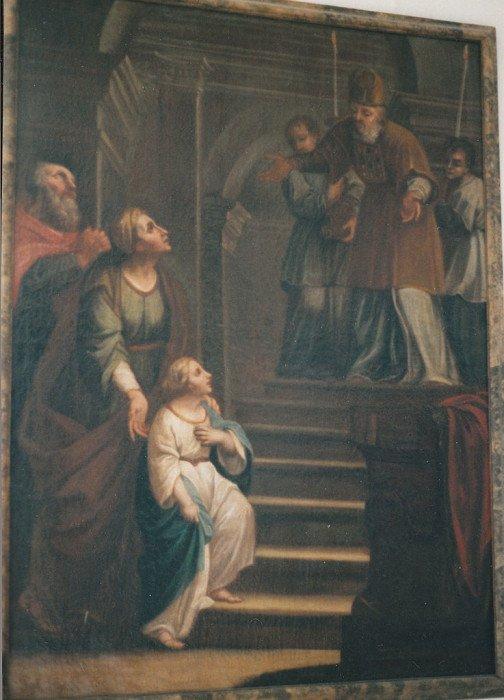 Аббатство Оттобойрен. Введение Марии во храм. 1722