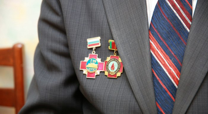 Церковь наградила спасателей-чернобыльцев медалями в честь князя Владимира