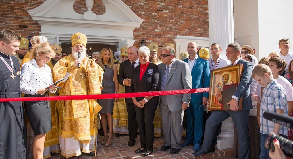 Во Флориде освятили самый большой православный храм юго-востока США