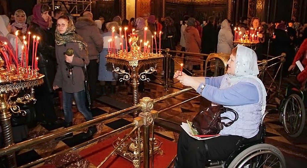 Храмы Москвы оборудуют навигацией для инвалидов