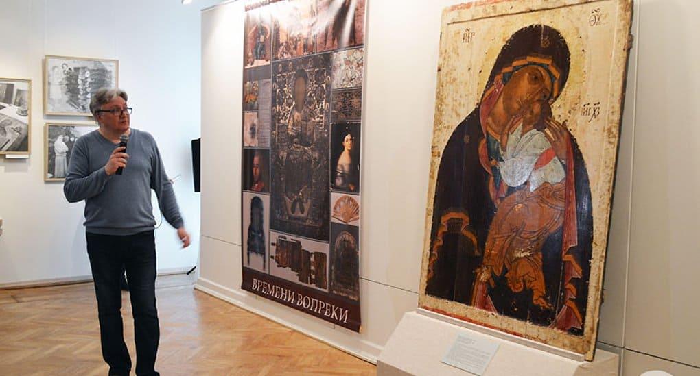 Завершилась тринадцатилетняя реставрация новгородской иконы XV века