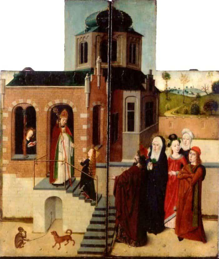 Мастер Тибуртинской Сивиллы. Введение Богородицы во храм. 1475-1480