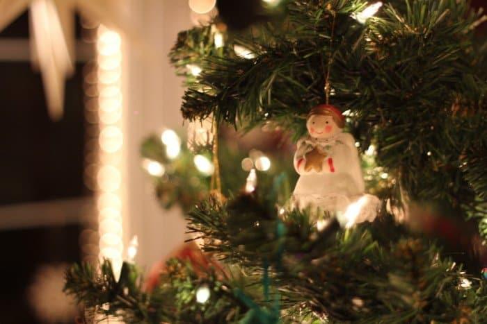 Фото Рождества: елка, ангел