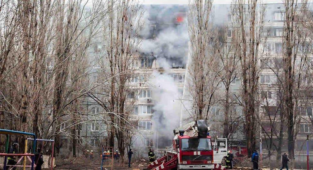 Священники помогают пострадавшим при обрушении дома в Волгограде