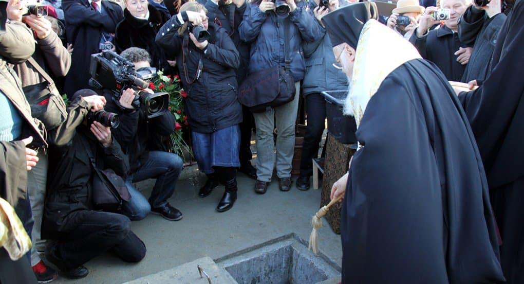 Впервые за 110 лет в Варшаве начали строить православный храм