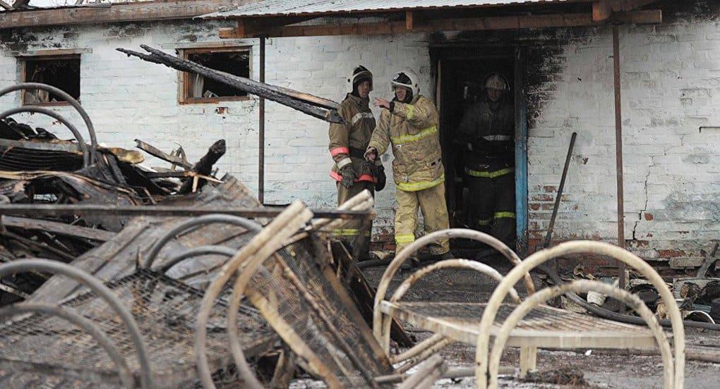 Пострадавших при пожаре в воронежском психоневрологическом интернате навестили священники