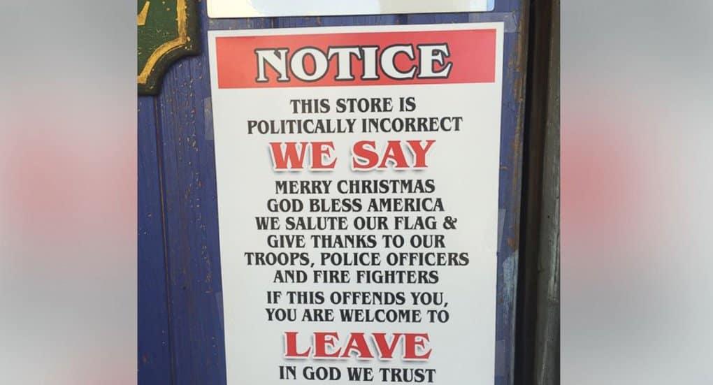 Ресторанная сеть Техаса решила вести себя «политически некорректно» защищая Рождество
