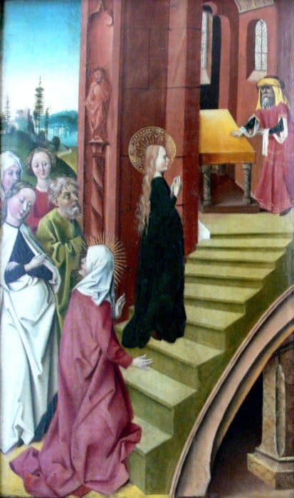 Ульм. Введение Богородицы во храм. 1480