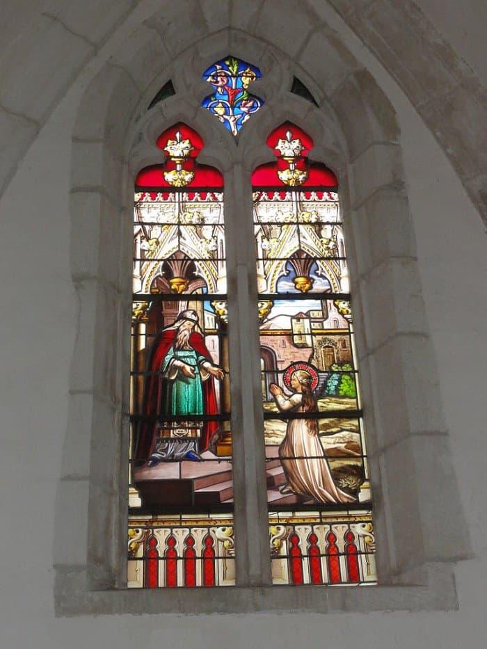 Введение Богородицы во храм. Часовня де Массей. Паньи-Сюр-Мёз, Франция