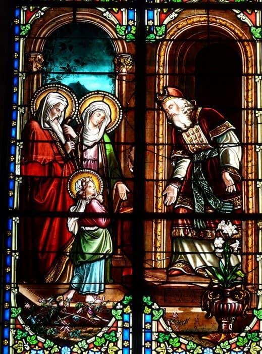Введение Богородицы во храм. Храм Рождества Богоматери. Molières. Дордонь, Франция