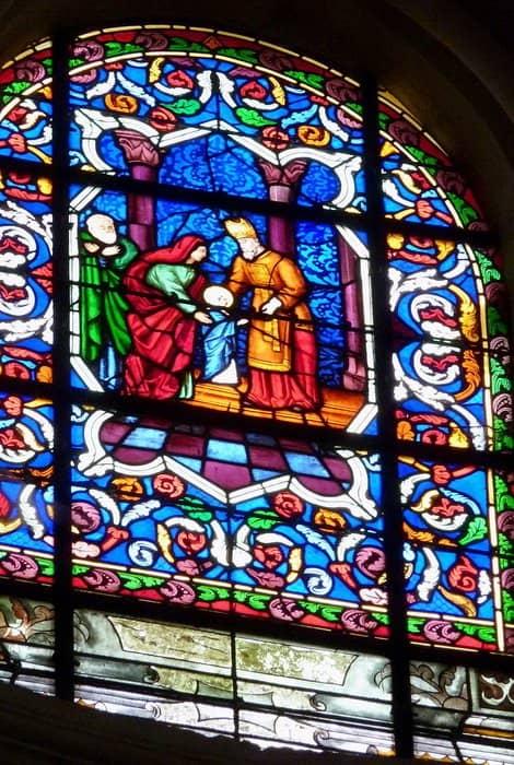 Введение Богородицы во храм. Церковь Марии Магдалины. Домон, Валь-д'Уаз, Франция