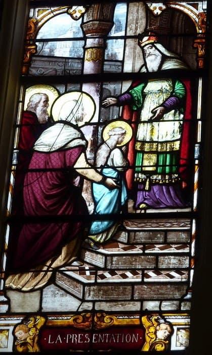 Введение Богородицы во храм. Церковь Saint-Ayoul. Провен, Франция