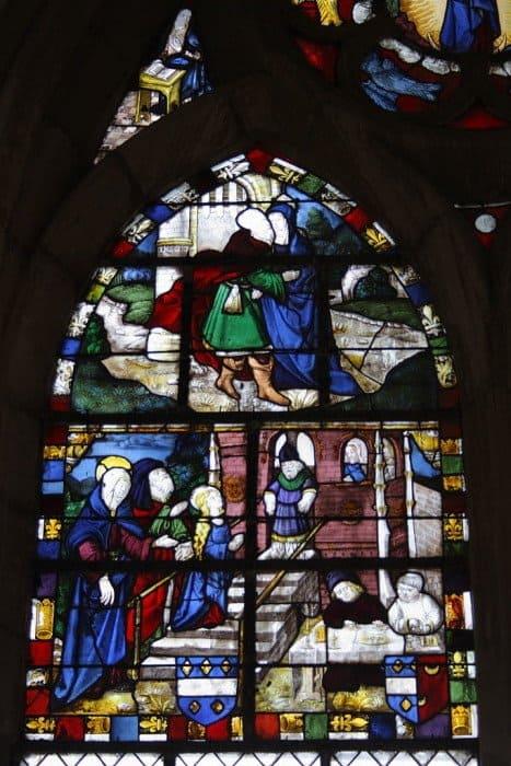 Введение Богородицы во храм. Церковь Сен-Мартен в Шанпо. Сена и Марна, Франция