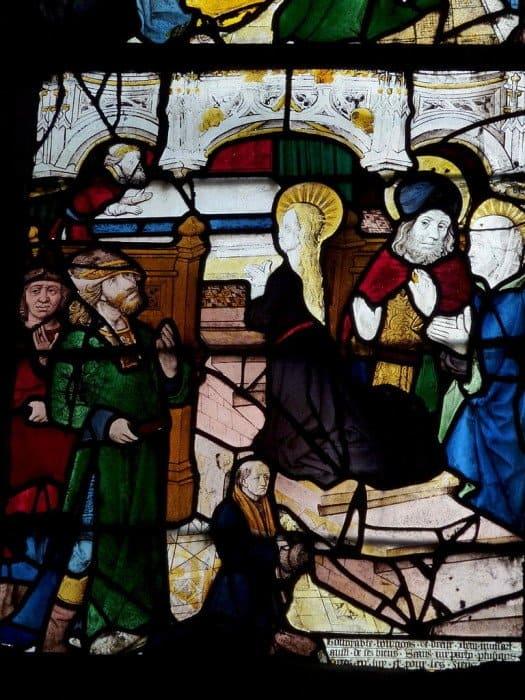 Введение Богородицы во храм. Церковь Сен-Пьер. Дрё, Эр и Луар, Франция