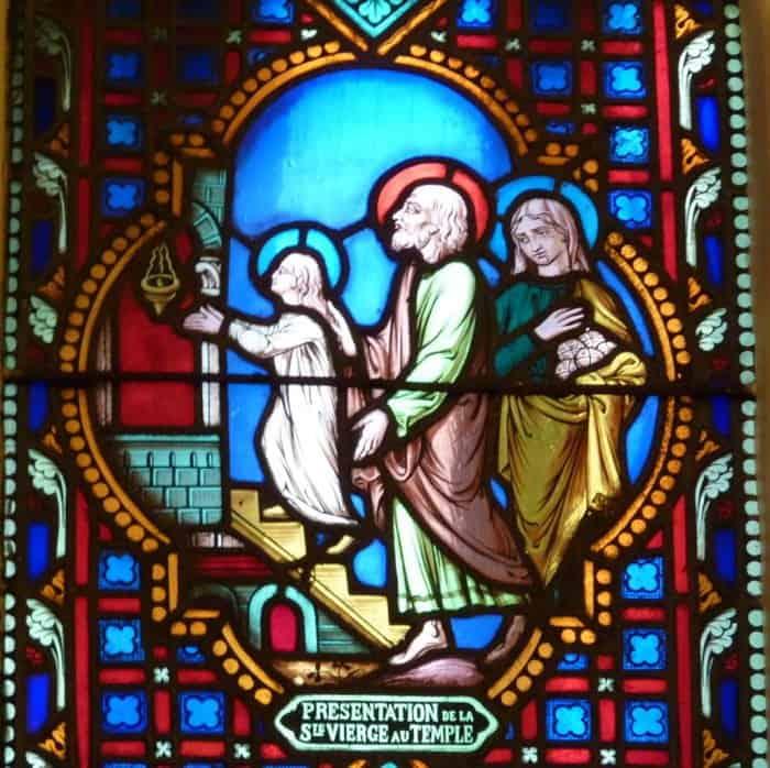 Введение Богородицы во храм. Церковь Сент-Ипполит. Париж, Франция