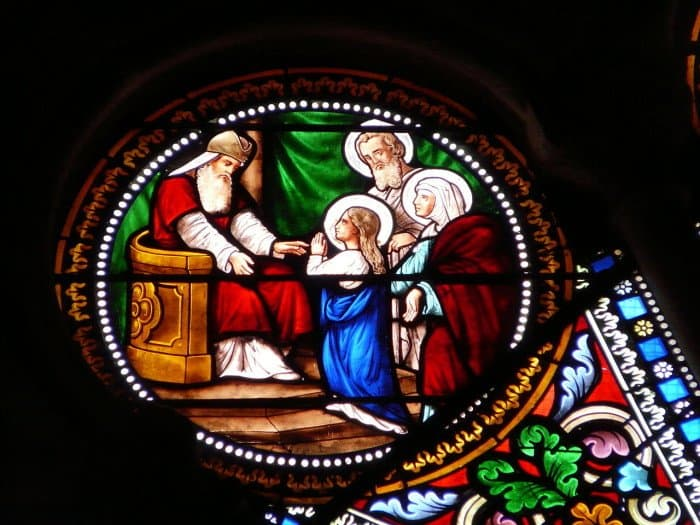 Введение Богородицы во храм. Церковь Святого Георгия, Перигё, Дордонь, Франция.
